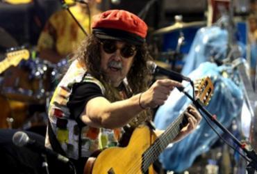 Moraes Moreira se apresenta em trio elétrico na Praça Castro Alves | Tiago Caldas | Secom