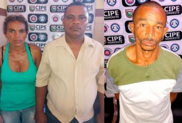 Três pessoas são presas com armas e drogas em Nova Soure | Divulgação | SSP-BA