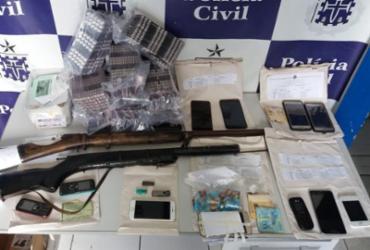 Ex-vereador e mais 16 pessoas são presos em operação   Divulgação   SSP