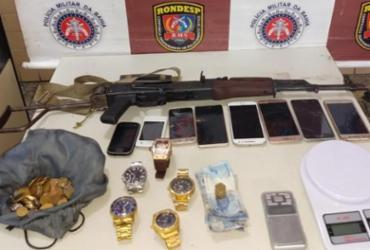 Trio é preso com fuzil russo no Jardim das Margaridas | Divulgação | SSP-BA