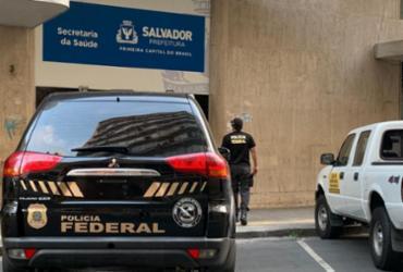Operação da PF combate esquema na Secretaria da Saúde de Salvador | Polícia Federal | Divulgação
