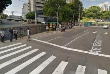 Colisão deixa trânsito congestionado na Av. Vasco da Gama | Reprodução | Google Maps