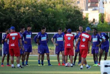 Bahia volta a treinar no Fazendão após classificação à semi   Divulgação   EC Bahia