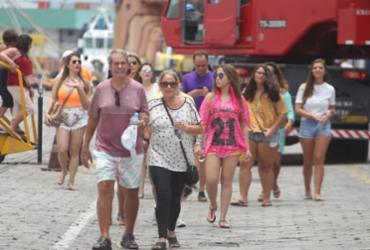 Mais de 9 mil turistas chegam de navio para o Carnaval de Salvador | Elói Corrêa | GovBA