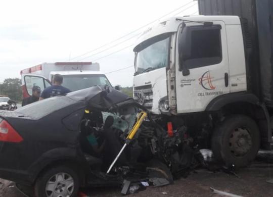 Uma pessoa morre e outra fica ferida em acidente   Bahia Norte