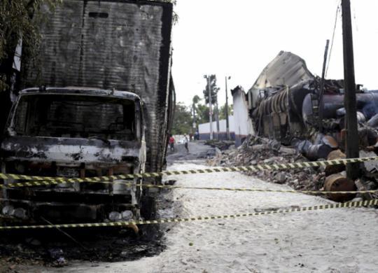 Fábrica de colchões atuava sem auto de vistoria do Corpo de Bombeiros | Adilton Venegeroles l Ag. A TARDE