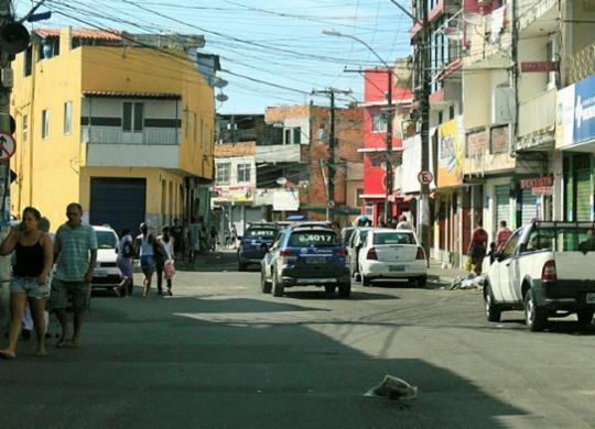 Ônibus param de circular na Santa Cruz após tiroteio | Edilson Lima | Ag. A TARDE