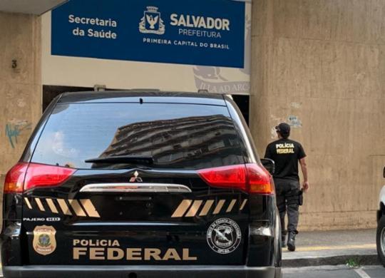 Polícia Federal combate esquema de fraude na Secretaria da Saúde de Salvador | Polícia Federal | Divulgação