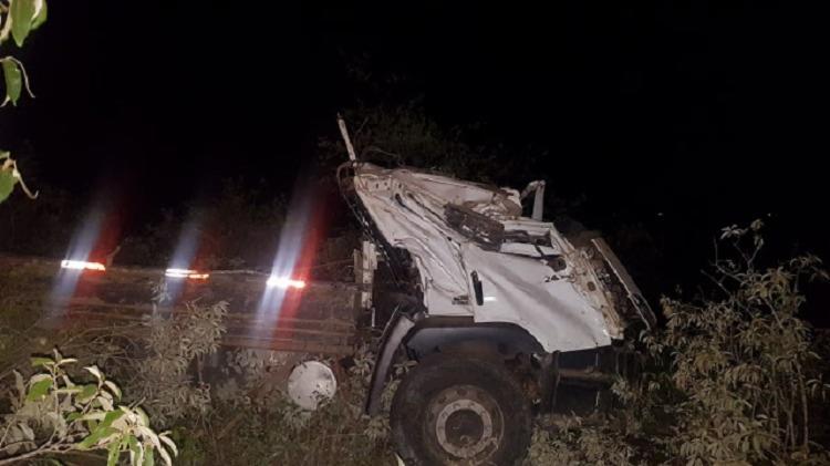 O acidente aconteceu na altura do KM 250, no trecho entre Morro do Chapéu e Porto Feliz - Foto: Divulgação