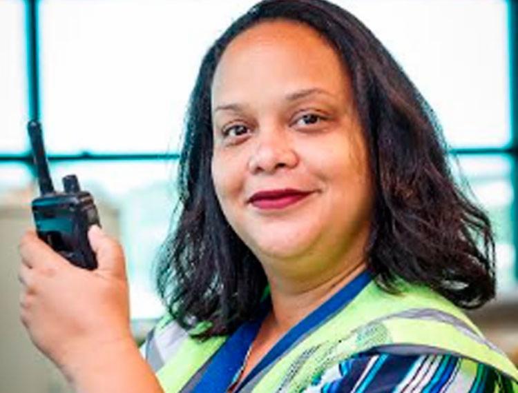 Márcia Lopes é gerente de operações do Aeroporto Salvador Bahia - Foto: Divulgação