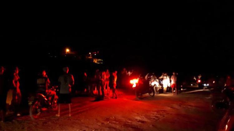 Os garotos estavam com um grupo de amigos na lagoa que fica na zona rural - Foto: Reprodução | Calila Notícias