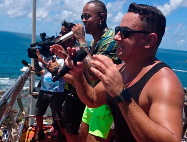 Léo Santana comandou festa que encerrou a festa em Salvador - Foto: Raul Aguilar   Ag. A TARDE