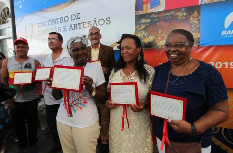 O evento teve como objetivo promover a valorização do artesanato baiano - Foto: Elói Corrêa l Gov-BA