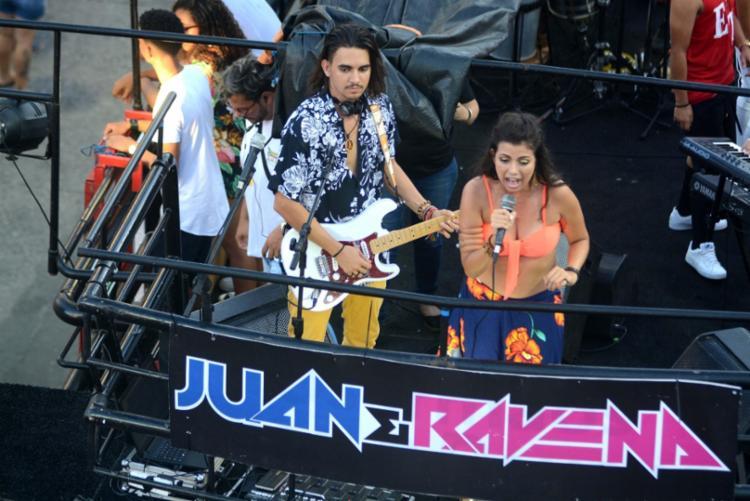 Ravena diz que chega a perder dois quilos por show - Foto: Jefferson Peixoto | Secom