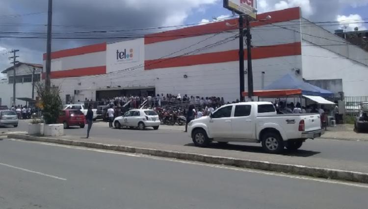 O crime aconteceu na sede da empresa, localizada no centro do município de Itabuna. - Foto: Divulgação | Verdinho Itabuna