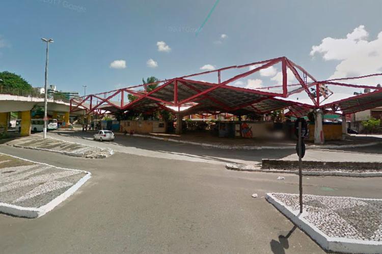 Acidente aconteceu na Estação Aquidabã - Foto: Reprodução | Google Street View