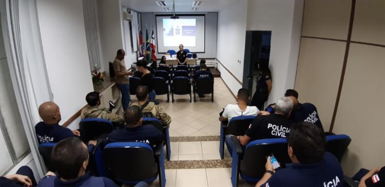 A ação conta com mais de 1.500 policiais em todos os estados envolvidos - Foto: Divulgação   SSP-BA