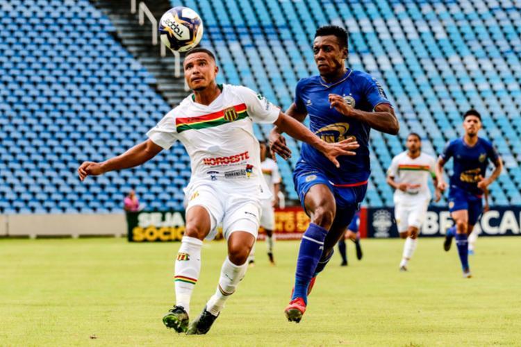 Tricolor repetiu fracasso de 2018 contra o mesmo time e foi eliminado de forma precoce - Foto: Lucas Almeida l Futura Press