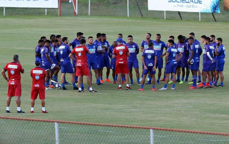 Esquadrão fará o 18º jogo em 2019, em menos de dois meses - Foto: Felipe Oliveira l EC Bahia