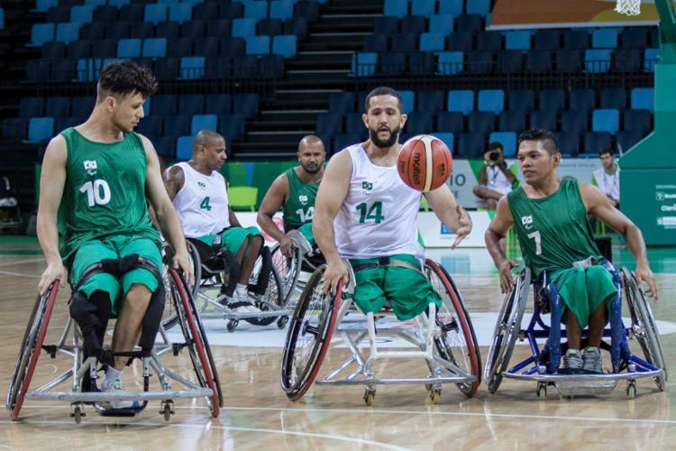 O torneio classifica os três melhores times masculinos e os dois melhores femininos aos Jogos Paralímpicos - Foto: Divulgação   CPB