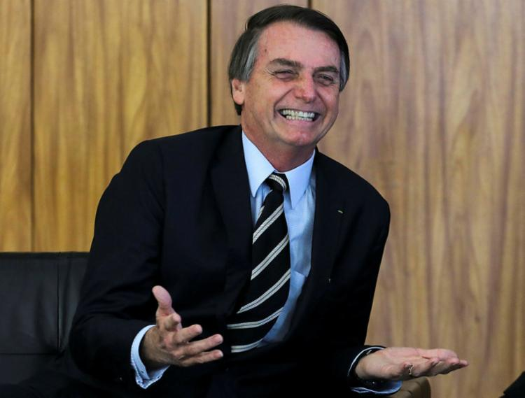 Bolsonaro disse acreditar que a maioria dos políticos já não esteja caminhando para a