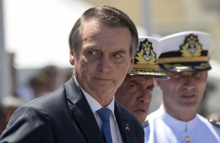 Presidente afirmou que comemoração de 1964 ficará dentro dos quartéis - Foto: Mauro Pimentel l AFP