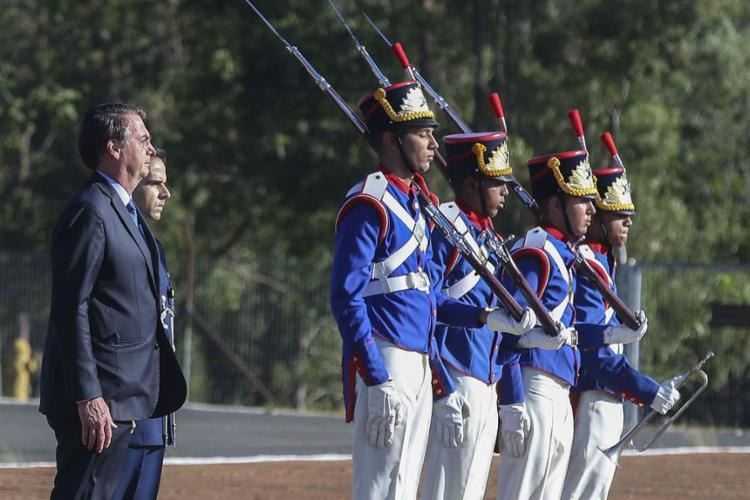 A petição tem relação com a orientação de Bolsonaro para comemorações nos quartéis, no próximo domingo, data que marca os 55 anos do golpe militar de 1964 - Foto: Antonio Cruz l Agência Brasil