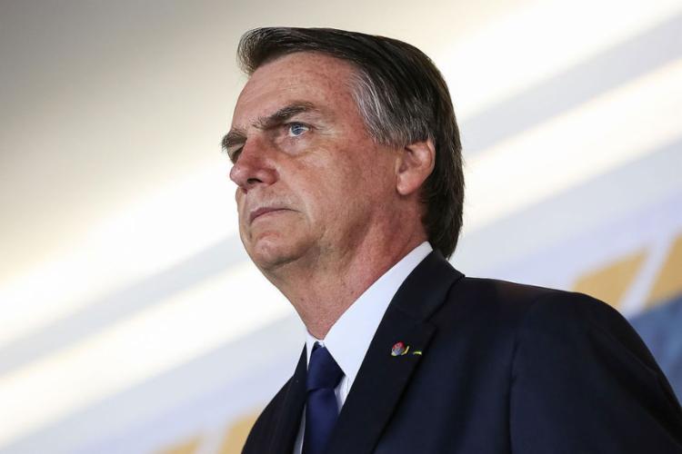 Assessoria diz que Bolsonaro quis caracterizar 'distorção do espírito momesco' - Foto: Marcos Corrêa l PR