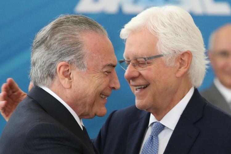 Michel Temer e Moreira Franco foram presos na manhã desta quinta-feira, 21 - Foto: André Dusek   Estadão Conteúdo