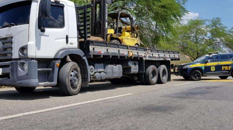 Veículo havia sido roubado em 2015 - Foto: Divulgação | PRF