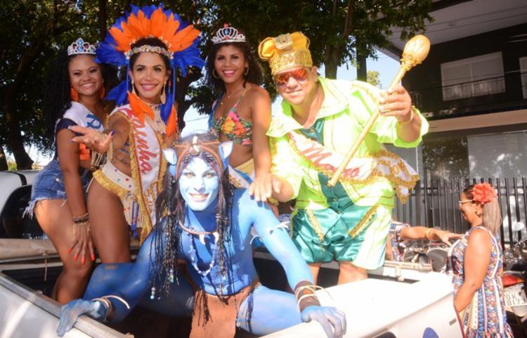Fantasias coloriram a festa na cidade baiana - Foto: Dircom | Barreiras