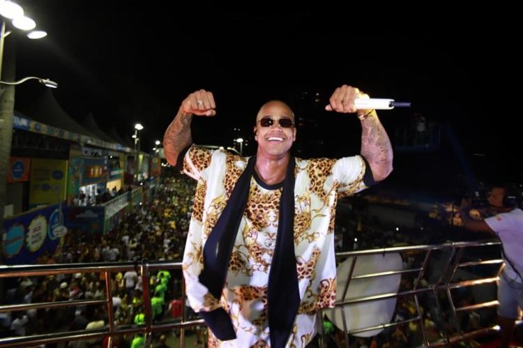 Léo Santana foi o grande campeão das transmissões ao vivo e noticiários dos telejornais do Carnaval - Foto: Fred Pontes | Divulgação