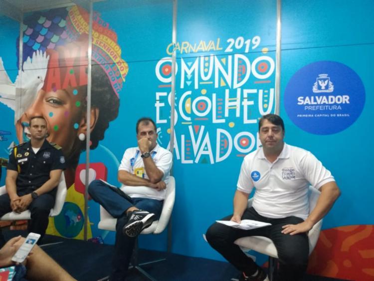 O evento aconteceu na Sala Oficial de de Imprensa ndo Carnaval, no Campo Grande - Foto: Silvania Nascimento | A TARDE