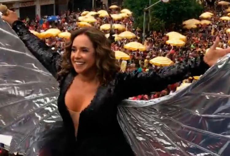 Previsão é que mais de 1 milhão de foliões acompanhem a Pipoca da Rainha - Foto: Reprodução   Instagram