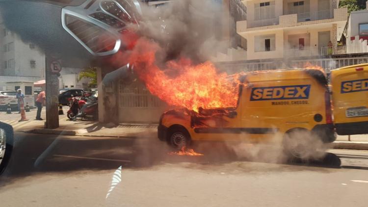 Incidente ocorreu nas proximidades do Hospital Jorge Valente - Foto: Cidadão Repórter | Whatsapp