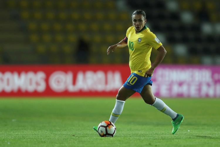 A seleção brasileira é uma das candidatas ao título na França - Foto: Lucas Figueiredo | CBF