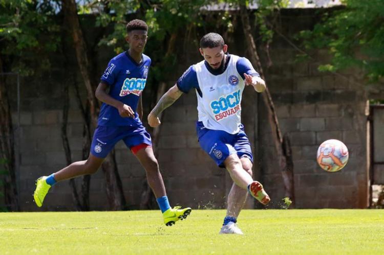Enderson Moreira intensificou a posse de bola e a movimentação dos atletas - Foto: Divulgação | EC Bahia