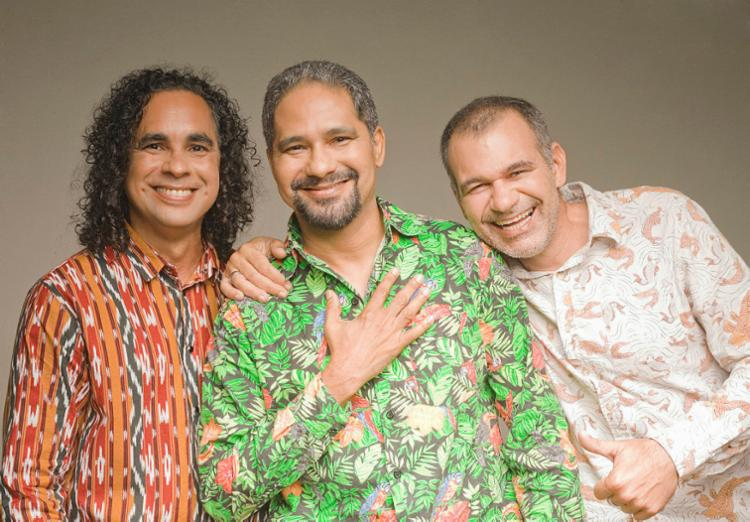 O grupo de reggae é composto por Serginho, Guima e Aurelino - Foto: Vinícius Moreira de Souza | Divulgação