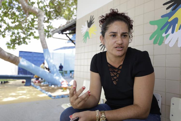 Católica, a professora Daiomara diz sentir-se acolhida - Foto: Joá Souza l Ag. A TARDE