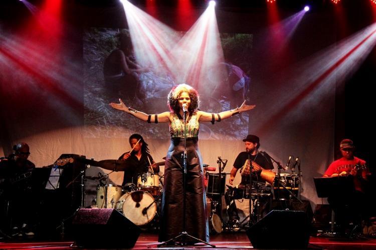 O show 'Preta Brasileira' ocorre neste sábado, 9, e terá como homenageada a ialorixá Mãe Marlene Rodrigues Da Silva Vintém de Nanã. - Foto: Divulgação