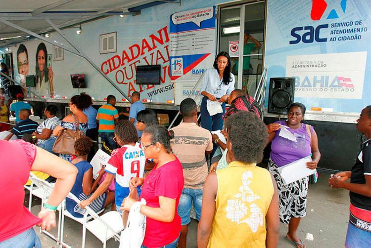Serviço funcionará das 8h às 16h, com a distribuição de 250 senhas - Foto: Luciano da Matta | Ag. A TARDE