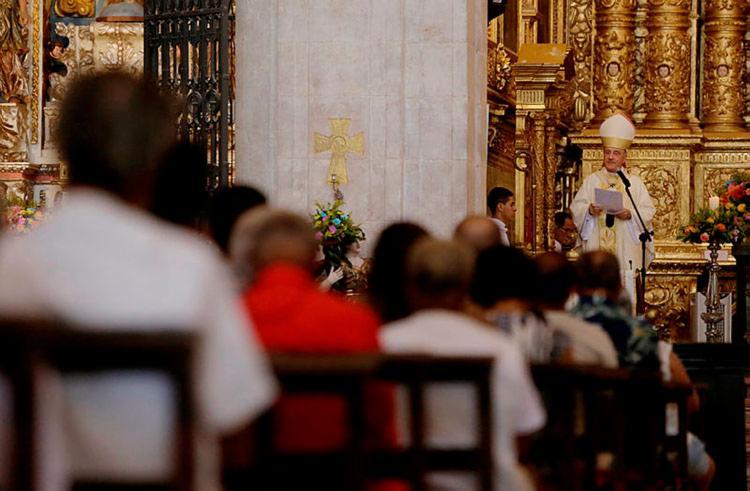 Celebração será realizada pelo arcebispo Dom Murilo Krieger - Foto: Raul Spinassé | Ag. A TARDE