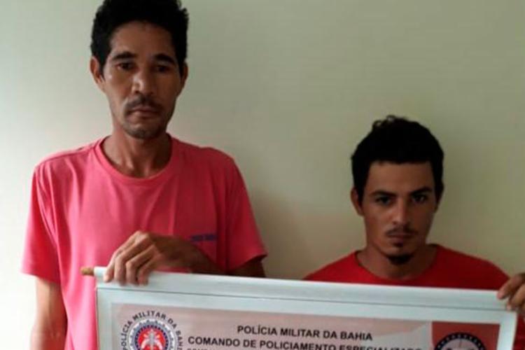 Polícia suspeita que dupla faça parte de esquema de tráfico de armas - Foto: Divulgação | SSP-BA