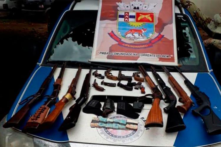 Material foi encontrado dentro de veículo conduzido pelos suspeitos | Foto: Divulgação | SSP-BA