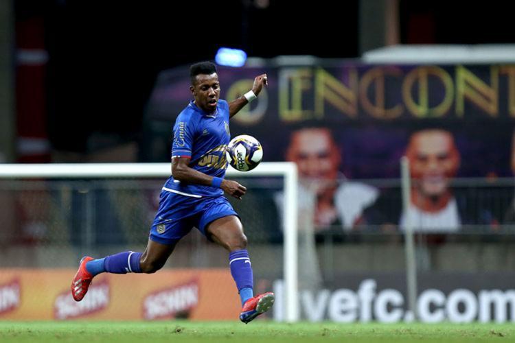 Apesar do episódio, o atleta ressaltou possuir uma boa relação com os torcedores - Foto: Felipe Oliveira | EC Bahia