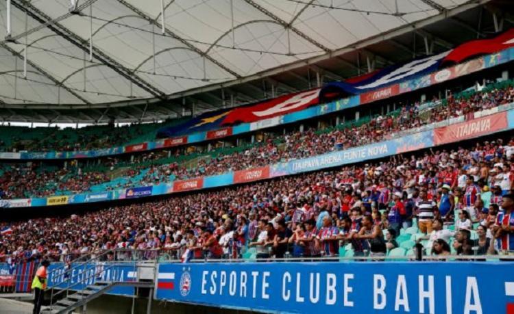 No domingo, as bilheterias da Fonte Nova estarão disponíveis a partir dàs 10h - Foto: Felipe Oliveira   EC Bahia
