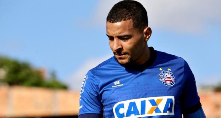 Apesar da gravidade da lesão, o atleta não passará por intervenção cirúrgica - Foto: Felipe Oliveiira | EC Bahia
