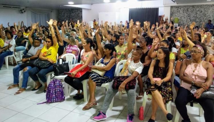 A decisão foi decretada em assembleia realizada na quinta-feira, 7 - Foto: Divulgação | APLB