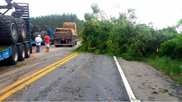 Fortes rajadas de vento têm causado acidentes nas estradas - Foto: Divulgação | PRF