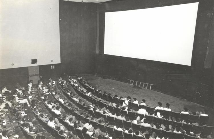 Antiga sala de exibição do Cine Excelsior, na Praça da Sé